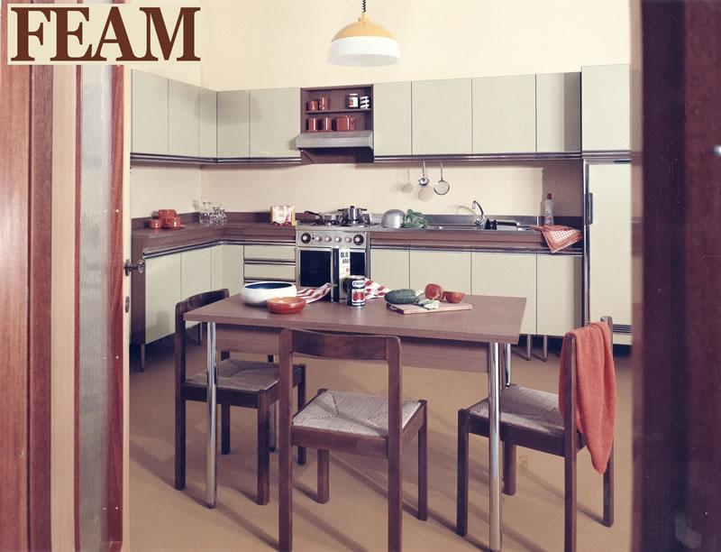 Cucine Feam anni 60