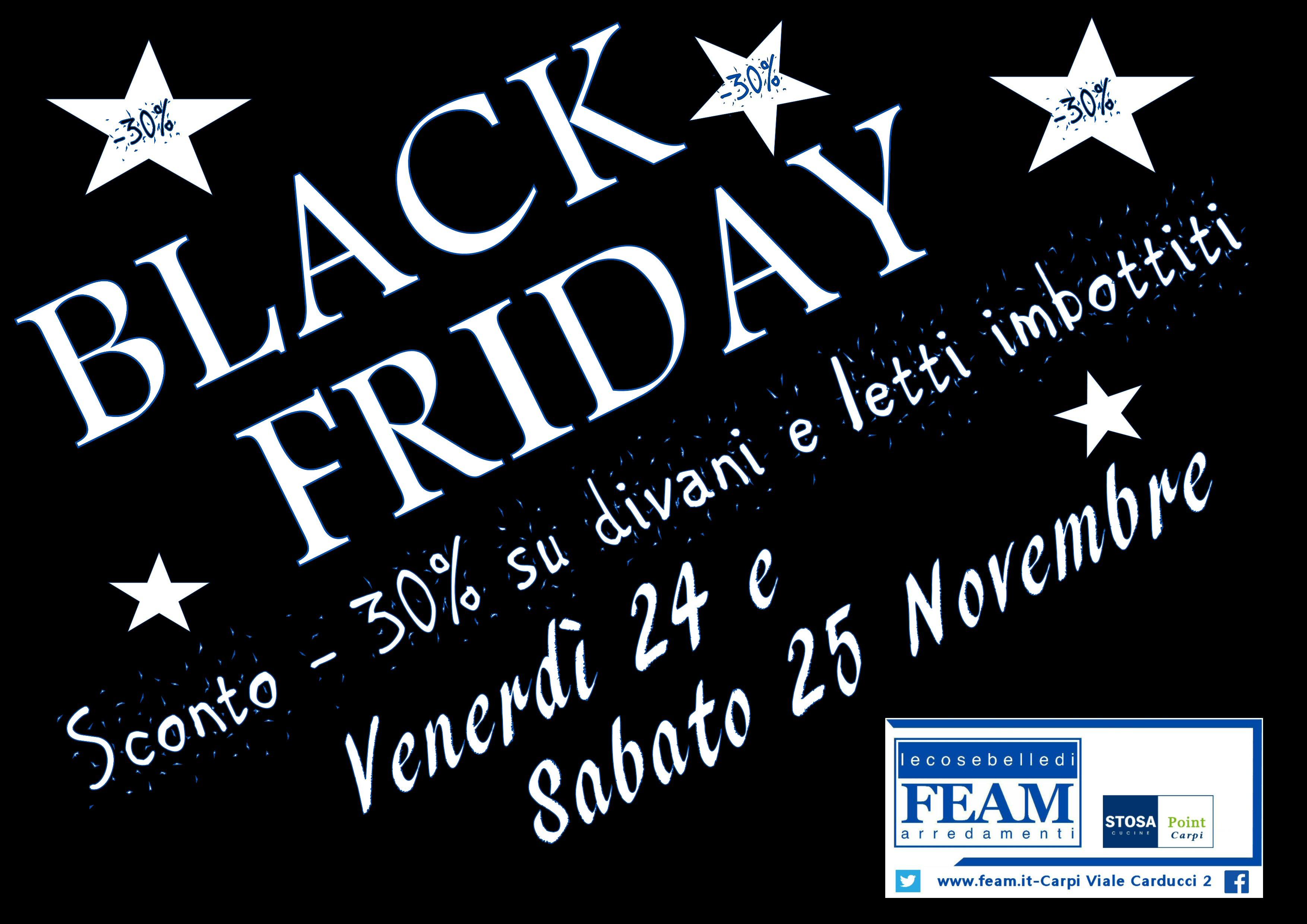"""Dilaga il """"Black Friday"""